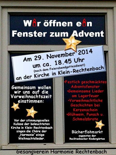 Adventsfenster 2014